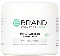 Духи, Парфюмерия, косметика Тонизирующий массажный крем - Ebrand Crema Massaggio Tonificante