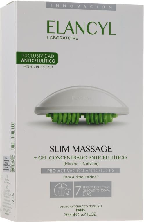 Набор - Elancyl Slim Design Set (b/gel/200ml + massager/1)