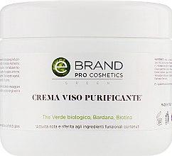 Духи, Парфюмерия, косметика Крем для проблемной кожи с миндальной кислотой и комплексом Биотин - Ebrand Crema Viso Purificante