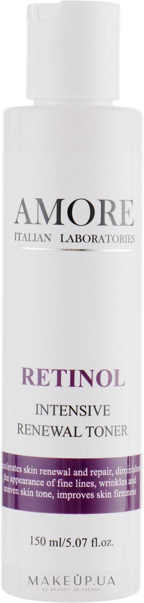 Концентрированный тоник с ретинолом для обновления кожи - Amore Retinol Intensive Renewal Toner — фото 150ml