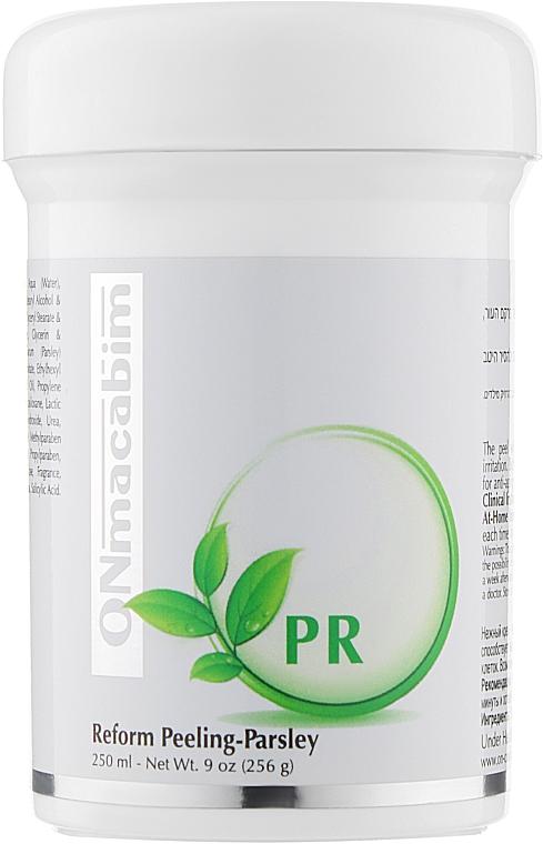 Крем-пилинг с экстрактом петрушки - Onmacabim PR Line Perform Peeling Parsley