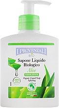 Духи, Парфюмерия, косметика Жидкое мыло, смягчающее - I Provenzali Aloe Organic Liquid Soap Softening