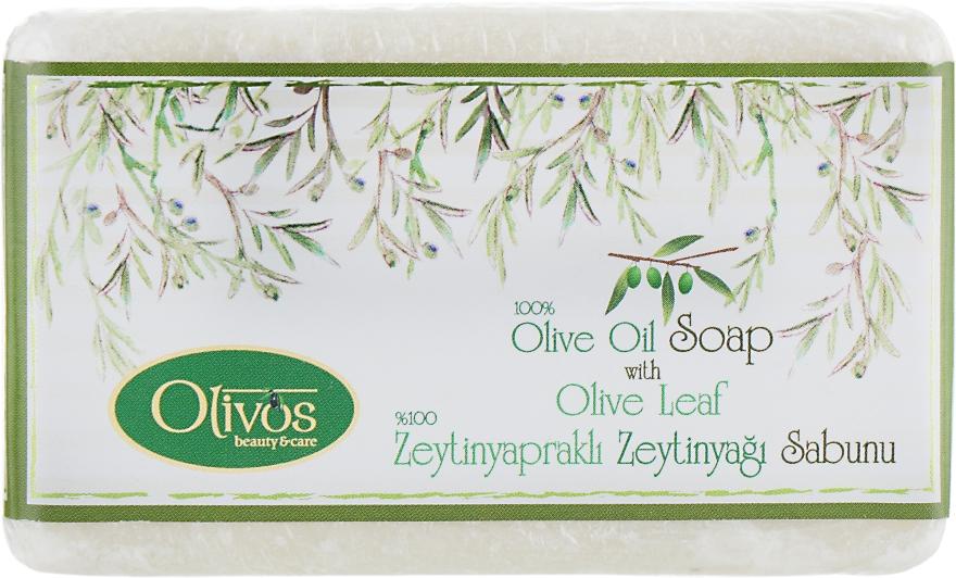 """Натуральное оливковое мыло """"Оливковый лист"""" - Olivos Classic Olive Leaf Soap — фото N1"""