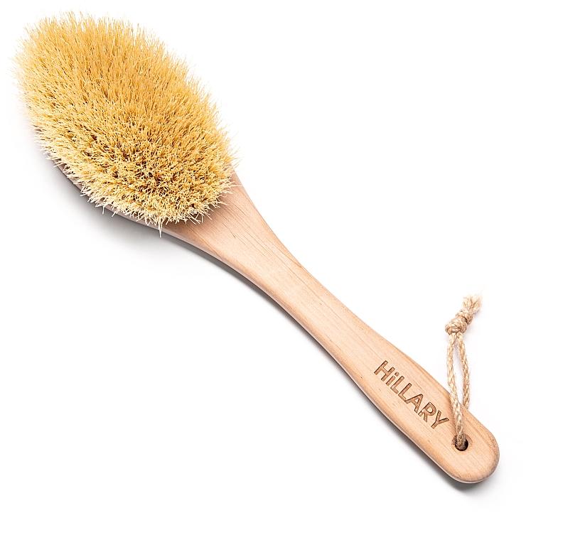 Щётка для сухого массажа - Hillary South Fin