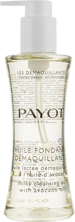 Очищающее масло для лица и глаз с авокадо - Payot Les Demaquillantes Huile Fondante Demaquillante Milky Cleansing Oil