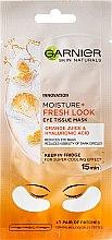 Духи, Парфюмерия, косметика Стимулирующая маска для глаз - Garnier Skin Naturals Moisture+ Fresh Look