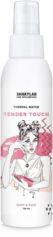 "Термальная вода с увлажняющим эффектом ""Tender Touch"" - SHAKYLAB Thermal Water For Body & Face"