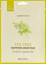 Духи, Парфюмерия, косметика Тканевая маска с экстрактом чайного дерева - Beauadd Bonnyhill Mask Pack Tea Tree
