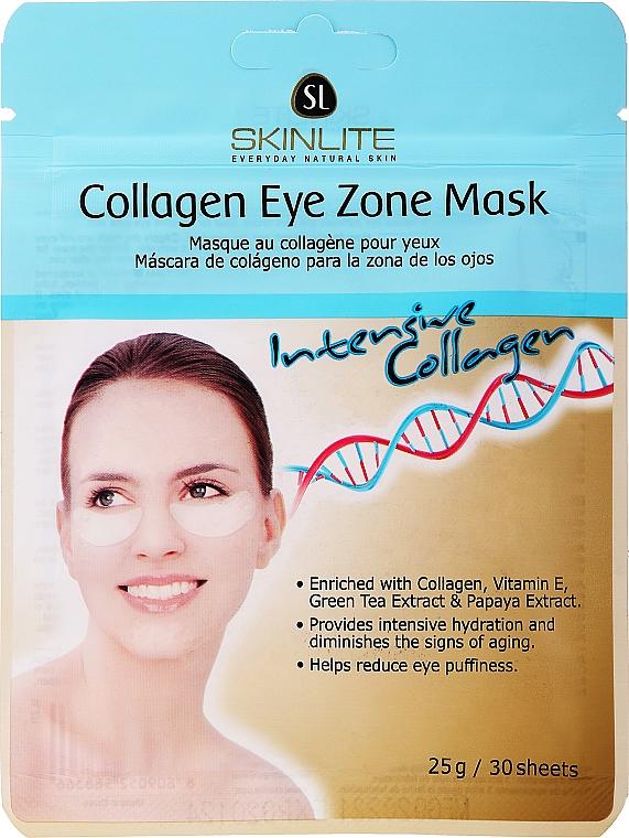 Патчи под глаза омолаживающие - Skinlite Collagen Eye Zone Mask
