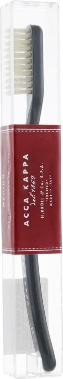 Зубная щётка - Acca Kappa Medium Pure Bristle Black