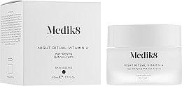 Духи, Парфюмерия, косметика Ночной ативозрастной крем с ретинолом - Medik8 Night Ritual Vitamin A