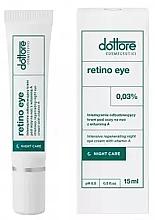 Духи, Парфюмерия, косметика Интенсивно восстанавливающий ночной крем под глаза с 0,3% витамином А - Dottore Retino Eye