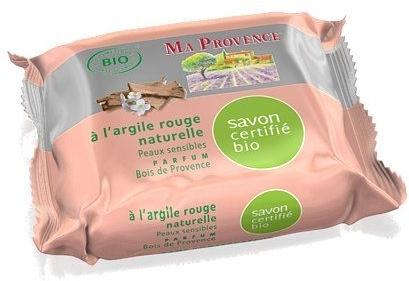 """Органическое мыло с ароматом дерева прованс """"Красная глина"""" - Ma Provence Nature Soap"""