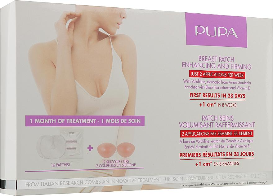 Патчи для подтяжки и увеличения объема груди - Pupa Breast Patch Enhancing and Firming Set