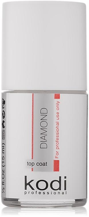 Верхнє покриття для акрилових нігтів - Kodi Professional Diamond Topcoat — фото N1