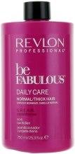 Духи, Парфюмерия, косметика Кондиционер для нормальных и густых волос - Revlon Professional Be Fabulous C.R.E.A.M. Conditioner