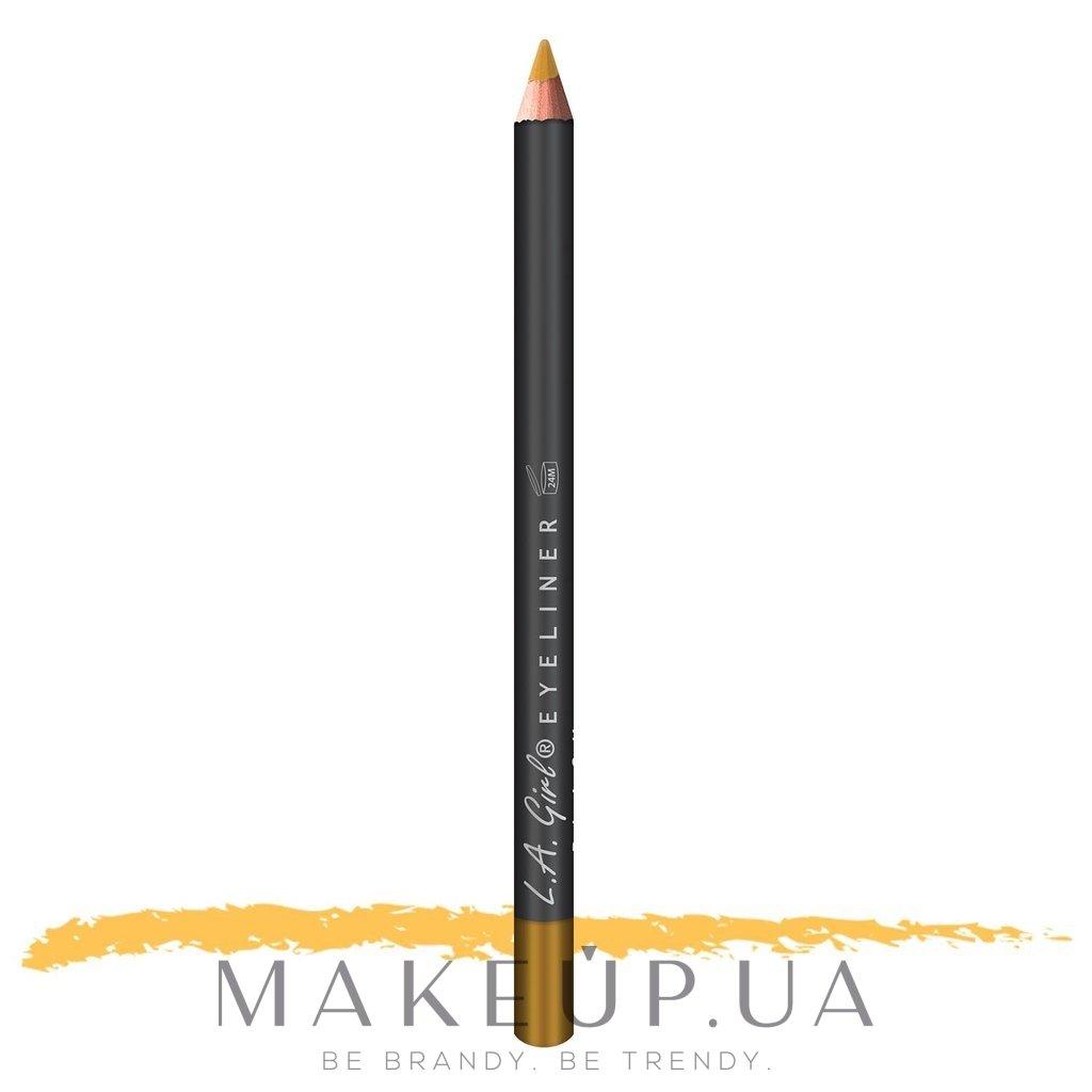 Карандаш для глаз - L.A. Girl Eyeliner Pencil — фото GP607 - Gold