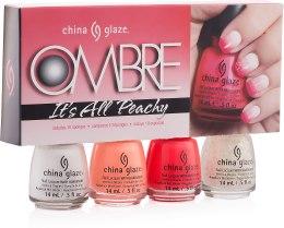 Парфумерія, косметика Набір лаків - China Glaze Ombre Its All Peachy