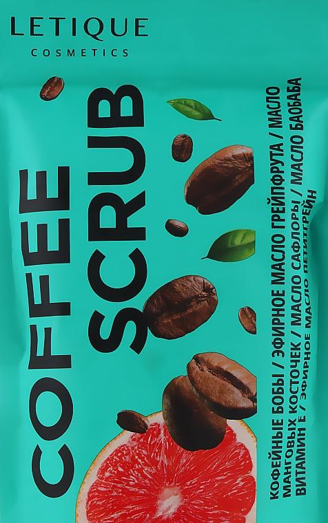 """Скраб """"Кофе"""" - Letique Cosmetics Coffee Scrub"""
