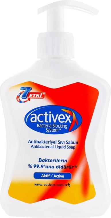 Антибактериальное мыло жидкое - Activex Active Protection