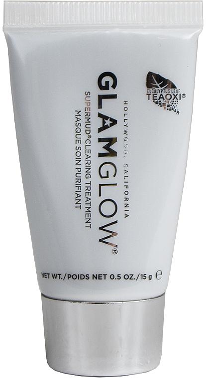 При покупке продукции Glamglow на сумму от 700 грн, получите в подарок очищающую маску Supermud, 15 мл