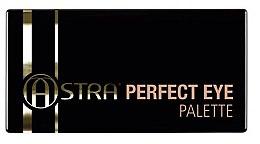 Духи, Парфюмерия, косметика Палетка теней для век - Astra Make-up Perfect Eye Palette
