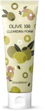 Духи, Парфюмерия, косметика Увлажняющая пенка с оливой - SeaNtree Olive 100 Cleansing Foam