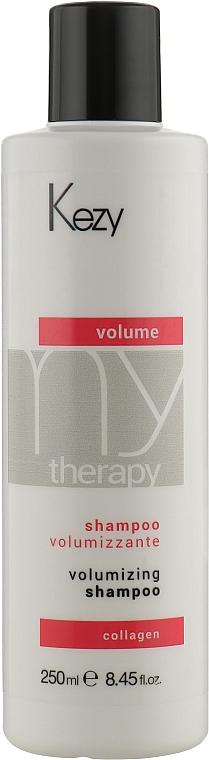 Шампунь для объема волос с морским коллагеном - Kezy Volume Volumizing Shampoo
