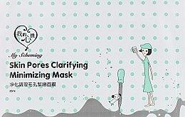 Духи, Парфюмерия, косметика Тканевая маска для очищения и сужения пор - My Scheming Skin Pores Clarifying Minimizing Mask