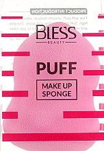 Духи, Парфюмерия, косметика Спонж грушевидный, розовый - Bless Beauty PUFF Make Up Sponge