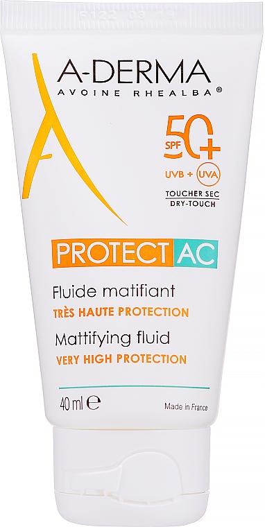 Матирующий флюид для лица - A-Derma Protect AC Mattifying Fluid SPF 50