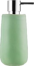 """Духи, Парфюмерия, косметика Дозатор для жидкого мыла """"Sina"""", 17х7.5 см, зеленый - Spirella"""