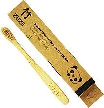 Духи, Парфюмерия, косметика Детская зубная щетка с мягкой бежевой щетиной - Zuzii Kids Soft Toothbrush