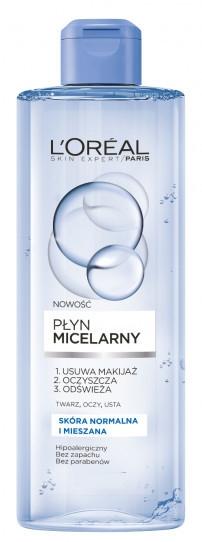 Мицеллярная вода для снятия макияжа - L'Oreal Paris Skin Expert Micellar Water