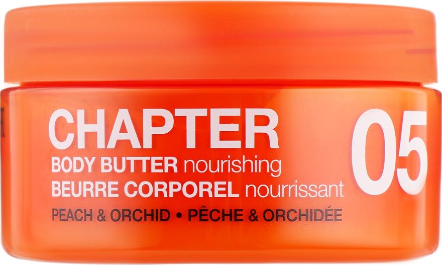 "Крем-масло для тела ""Персик и орхидея"" - Mades Cosmetics Chapter 05 Peach & Orchids Nourishing Body Butter"