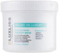 Духи, Парфюмерия, косметика Восстанавливающая аргановая маска - Luxliss Moisture Therapy Repair Mask
