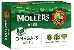 """Духи, Парфюмерия, косметика Пищевая добавка """"Omega 3 + D3"""" - Mollers Algi"""
