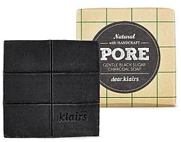 Духи, Парфюмерия, косметика Мыло для жирной кожи - Klairs Gentle Black Sugar Charcoal Soap