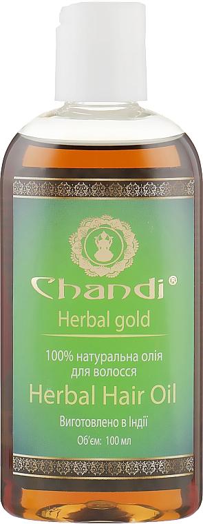 """Натуральное масло для волос """"Травяное"""" - Chandi Herbal Hair Oil"""