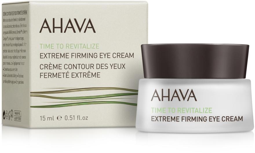 Крем для кожи вокруг глаз укрепляющий - Ahava Time to Revitalize Extreme Firming Eye Cream