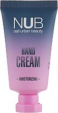 Духи, Парфюмерия, косметика Увлажняющий крем для рук - NUB Moisturizing Hand Cream Peach