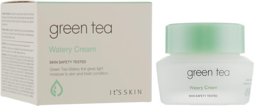 Увлажняющий крем для лица с экстрактом зеленого чая - It's Skin Green Tea Watery Cream