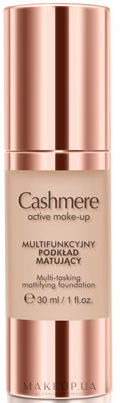 Матовая тональная основа - Dax Cashmere Active Make-Up Mattifying Foundation — фото Medium Beige