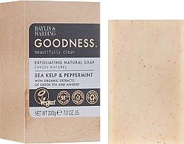 Духи, Парфюмерия, косметика Мыло - Baylis & Harding Goodness Sea Kelp & Peppermint Natutal Bar Soap