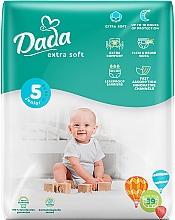 """Духи, Парфюмерия, косметика Подгузники """"Extra Soft"""" 5 Junior (15-25 кг, 39 шт) - Dada"""