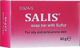 Духи, Парфюмерия, косметика Серное мыло для жирной и проблемной кожи - Egza-S Salis Soap Bar With Sulfur