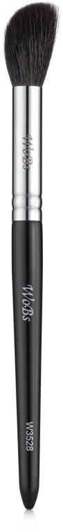 Кисть для румян и хайлайтера W3528 - WoBs