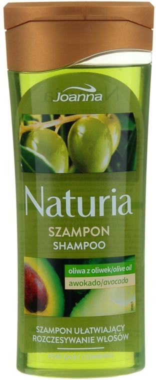 """Шампунь """"Авокадо и олива"""" для сухих и поврежденных волос - Joanna Naturia Shampoo Avocado & Olive Oil"""