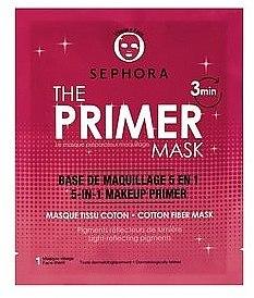 Тканевая маска-праймер 5 в 1 для лица - Sephora Face Mask — фото N1