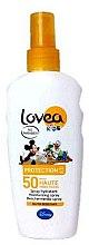Духи, Парфюмерия, косметика Солнцезащитный спрей для детей - Lovea Kids Protection SPF50